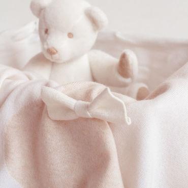 Текстиль ручной работы. Ярмарка Мастеров - ручная работа Плед 100% Кашемир Айвори. Handmade.