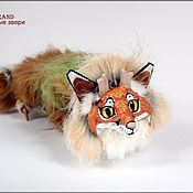 Куклы и игрушки ручной работы. Ярмарка Мастеров - ручная работа Нган Ронг Сверре, дракон-лис. Handmade.