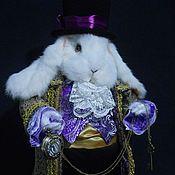 """Куклы и игрушки ручной работы. Ярмарка Мастеров - ручная работа Белый кролик из сказки """"Алиса в стране чудес"""". Handmade."""