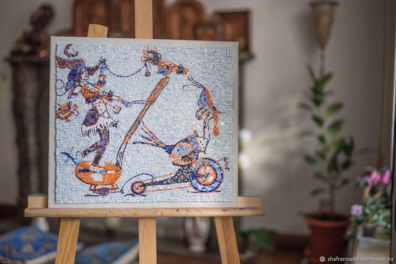 """Мозаика """"Гусь"""", Картины, Санкт-Петербург,  Фото №1"""