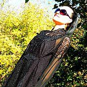 Одежда ручной работы. Ярмарка Мастеров - ручная работа Зимнее маленькое черное  платье (№202). Handmade.