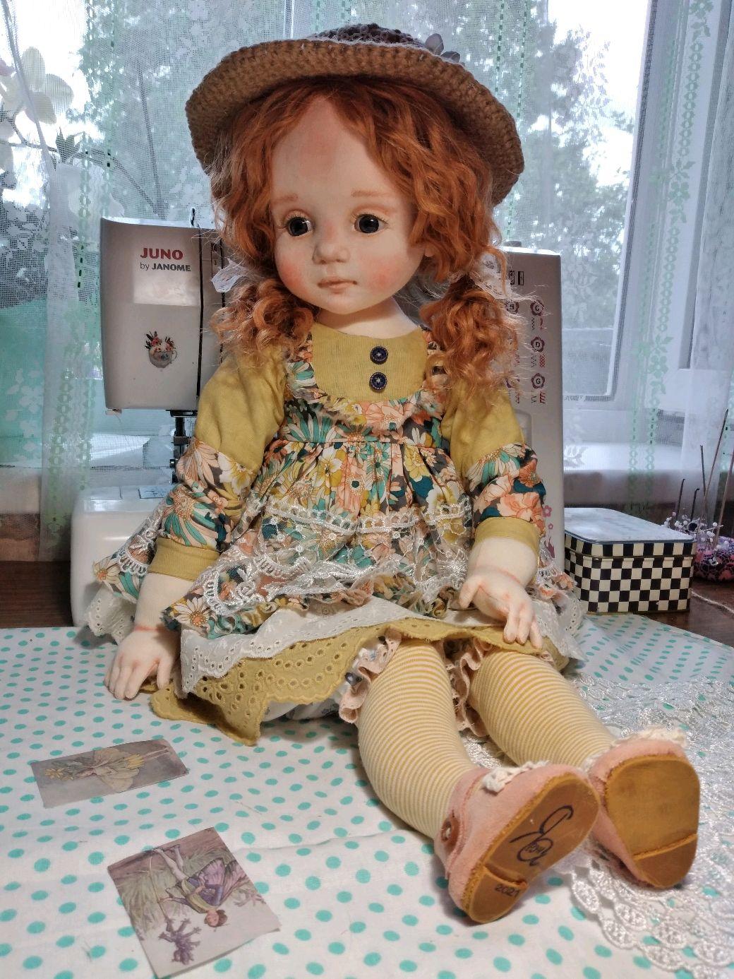 Аришка.будуарная кукла, Будуарная кукла, Духовщина,  Фото №1