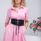 """Одежда ручной работы. Ярмарка Мастеров - ручная работа Платье-рубашка """"Эмма"""". Handmade."""