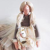 Куклы Тильда ручной работы. Ярмарка Мастеров - ручная работа Тильда с единорожком. Handmade.