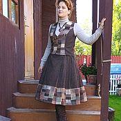 Одежда handmade. Livemaster - original item Set of vest and skirt