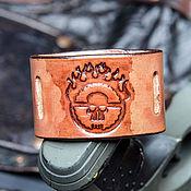 """Украшения ручной работы. Ярмарка Мастеров - ручная работа Браслет кожаный """"Безумный Макс 2.0"""". Handmade."""