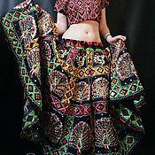 Одежда handmade. Livemaster - original item Dance embroidered costume with skirt sun. Handmade.