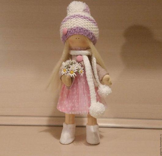 Куклы Тильды ручной работы. Ярмарка Мастеров - ручная работа. Купить интерьерная куколка Ромашка. Handmade. Кукла тильда купить