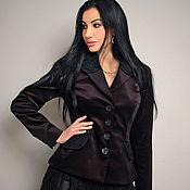 Одежда handmade. Livemaster - original item Elegant jacket with hand-woven