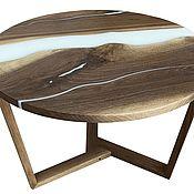 Для дома и интерьера handmade. Livemaster - original item Coffee table made of solid American walnut. Handmade.