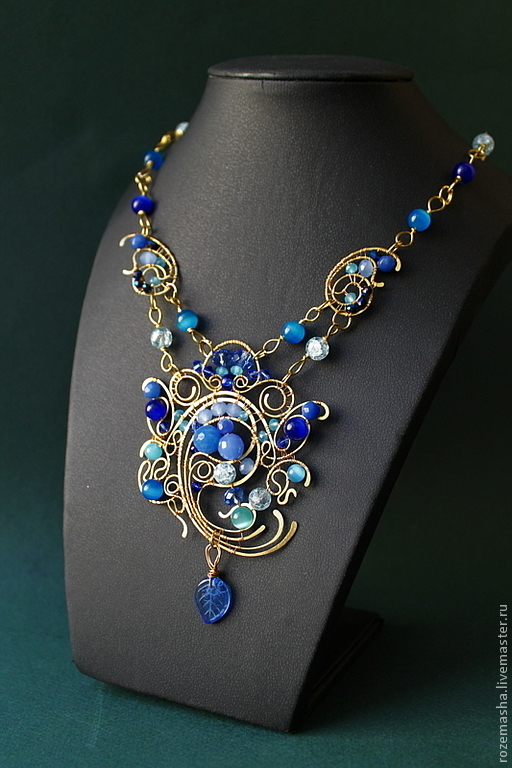 Necklace Jamilya, Necklaces & Beads handmade, St. Petersburg, Фото №1