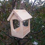 """Для домашних животных, ручной работы. Ярмарка Мастеров - ручная работа Кормушка для птиц """"Эко-Домик"""" собери сам. Handmade."""