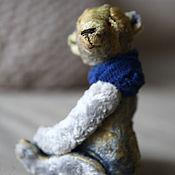 Мишки Тедди ручной работы. Ярмарка Мастеров - ручная работа Мишка Тедди Лаки из винтажного плюша. Handmade.
