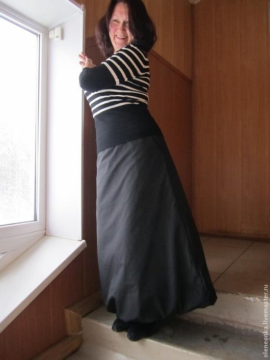 Юбки ручной работы. Ярмарка Мастеров - ручная работа. Купить Юбка зимняя. Handmade. Зимняя юбка, Плащёвка