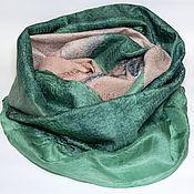 Аксессуары ручной работы. Ярмарка Мастеров - ручная работа шарф валяный Загадка леса. Handmade.