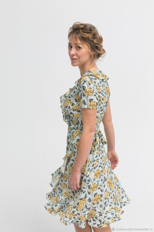Платье на запах с воланом, Платья, Санкт-Петербург,  Фото №1