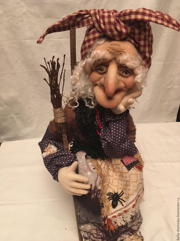 Кукла на руку баба яга своими руками 170