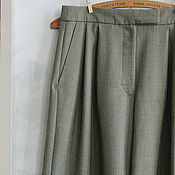 Одежда handmade. Livemaster - original item Slacks olive green from City collection Dzen. Handmade.
