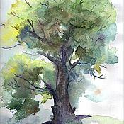 """Картины и панно ручной работы. Ярмарка Мастеров - ручная работа """"Осеннее дыхание"""" Пейзаж. Природа. Акварель. Handmade."""