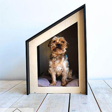 Товары для питомцев ручной работы. Ярмарка Мастеров - ручная работа Домик Loft Tilt для собак и кошек. Handmade.