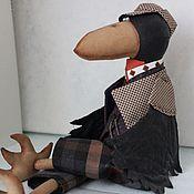 Куклы и игрушки ручной работы. Ярмарка Мастеров - ручная работа Интерьерная кукла Ворон. Handmade.
