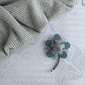 Украшения handmade. Livemaster - original item The Lucky Five-Leaf Brooch. Handmade.