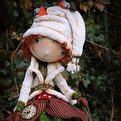 Куклы и игрушки ручной работы. Ярмарка Мастеров - ручная работа Дженни. Зимнее настроение...)). Handmade.