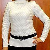 Одежда ручной работы. Ярмарка Мастеров - ручная работа свитер вязаный. Handmade.