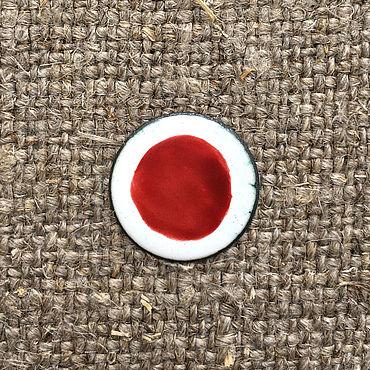 Материалы для творчества ручной работы. Ярмарка Мастеров - ручная работа Краска надглазурная Дулево №62 темно-красная. Handmade.