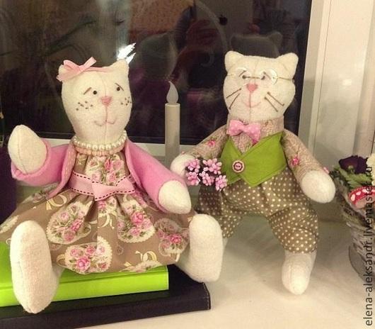 Кот Антуан и кошка Маруся