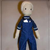 Куклы и игрушки ручной работы. Ярмарка Мастеров - ручная работа Мальчик-техник. Handmade.