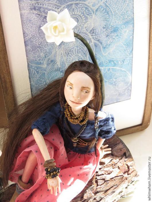 Освещение ручной работы. Ярмарка Мастеров - ручная работа. Купить ночник-автороская кукла Анурадха ПРОДАНО. Handmade. Анурадха, сосна