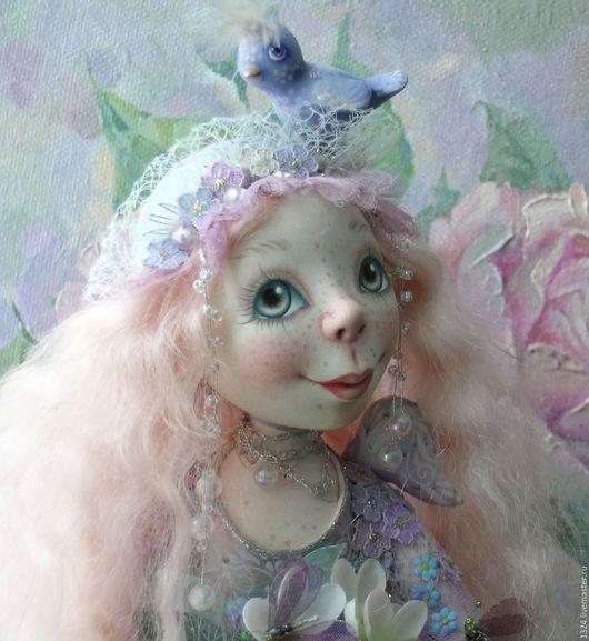 Коллекционные куклы ручной работы. Ярмарка Мастеров - ручная работа. Купить кукла Ангел утренней росы Нежный ангел Ангел-хранитель. Handmade.