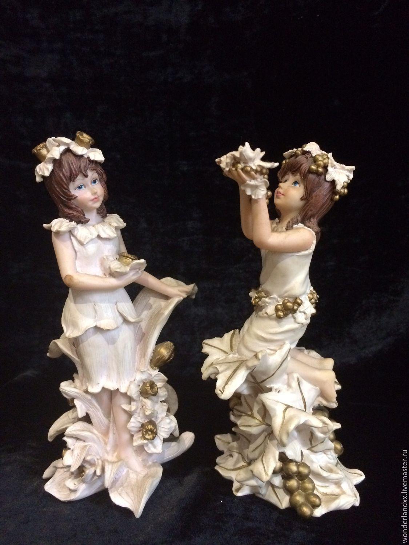 Винтаж: Две феи, Regency Fine Arts, Англия, Сувениры винтажные, Москва,  Фото №1