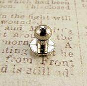 Кнопки ручной работы. Ярмарка Мастеров - ручная работа Кобурная кнопка 811 никель 7мм. Handmade.