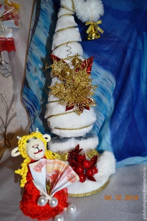 Деревья ручной работы. Ярмарка Мастеров - ручная работа. Купить Новогодняя ёлочка. Handmade. Новый Год, ручная работа, рукоделие
