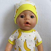 Одежда для кукол ручной работы. Ярмарка Мастеров - ручная работа Боди для Беби Бон. Handmade.