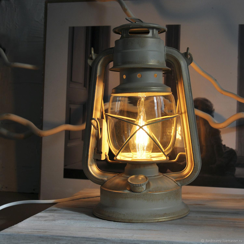 Original table lamp for any interior. Hand - job-Fair masters