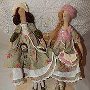 Куклы и игрушки ручной работы. Ярмарка Мастеров - ручная работа Бохо-сестрички Мэри и Николь. Handmade.