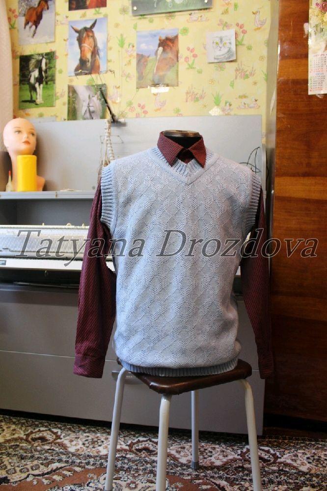 Одежда для мальчиков, ручной работы. Ярмарка Мастеров - ручная работа. Купить Вовчик жилет для школьника. Handmade. Жилет
