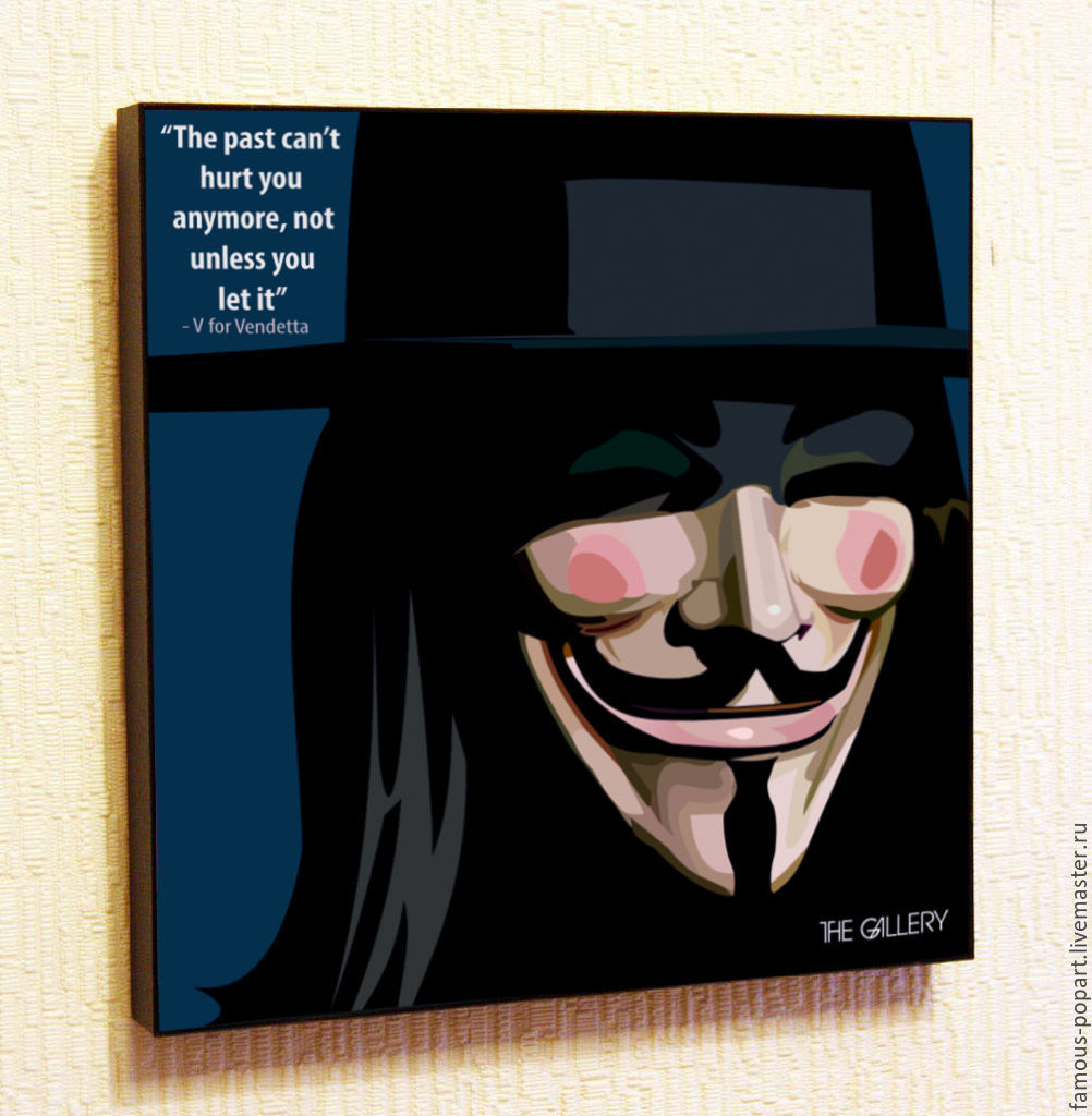 Picture poster Vendetta Pop Art, Fine art photographs, Moscow,  Фото №1