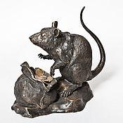 Для дома и интерьера handmade. Livemaster - original item Rat big money. Handmade.