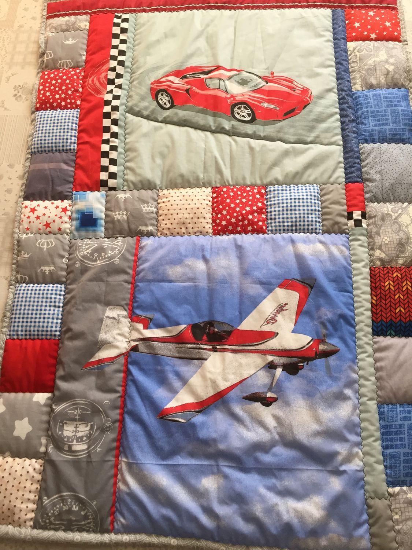 Пледы и одеяла ручной работы. Ярмарка Мастеров - ручная работа. Купить Самолётик. Handmade. Плед, текстиль, самолеты, самолетик