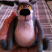 Куклы и игрушки ручной работы. Ярмарка Мастеров - ручная работа Жил-был... волк. Handmade.