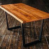 Столы ручной работы. Ярмарка Мастеров - ручная работа Стол из слэба дерева с живым краем. Handmade.