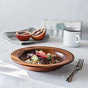 Посуда handmade. Livemaster - original item Plate made of Cedar