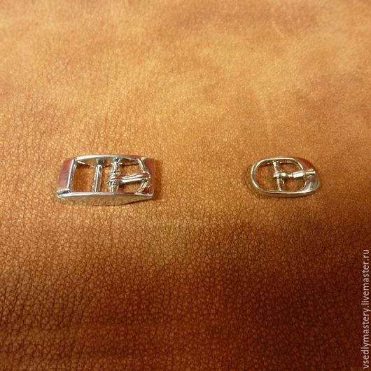 Другие виды рукоделия ручной работы. Ярмарка Мастеров - ручная работа. Купить Пряжки - 2 вида. Handmade. Серебряный, никель