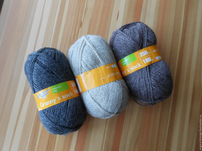 Состав пряжи для вязания носков 55