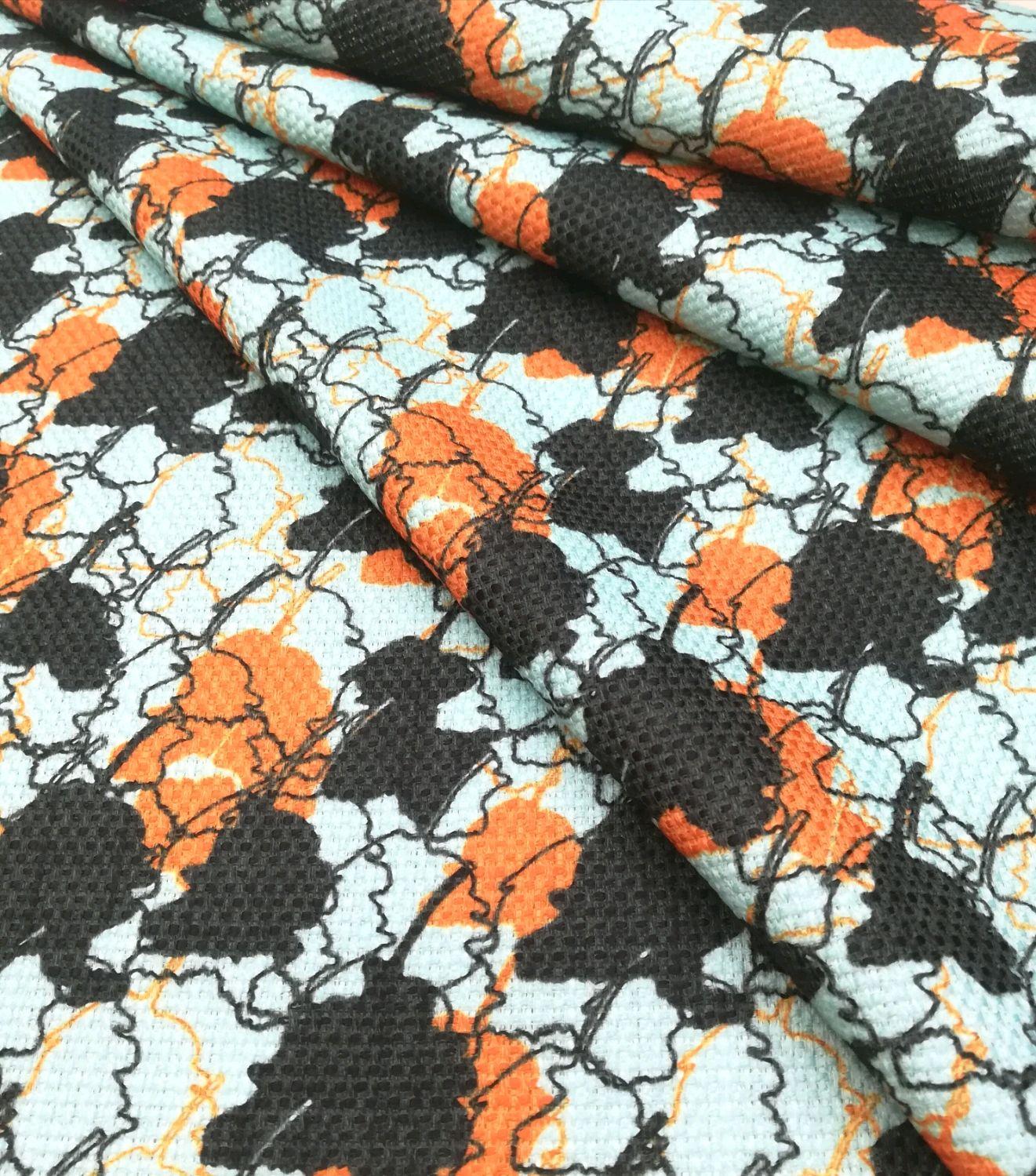 Итальянская ткань ХЛ-724 Хлопок рогожка, Ткани, Новосибирск,  Фото №1