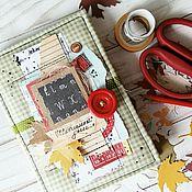 Подарки к праздникам ручной работы. Ярмарка Мастеров - ручная работа Школьный мини-альбом ручной работы. Handmade.